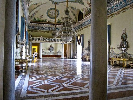 Napoli - Museo di Capodimonte (salone da ballo)