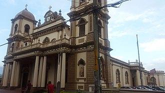 Naranjo (canton) - Image: Naranjo Church Costa Rica