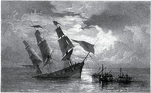 Narrative of a Voyage Round the World - Wreck of the Ship.jpg