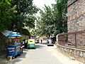 Narrow lane leading to the Agrasen ki Baoli (7987709114).jpg