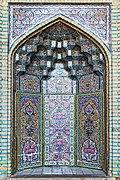 Nasir ol Molk Mosque, Shiraz 04 - Mihrab.jpg