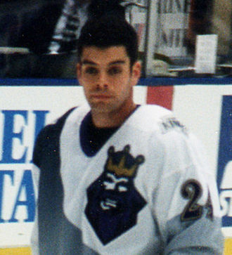 Nathan LaFayette - LaFayette as a member of the Los Angeles Kings