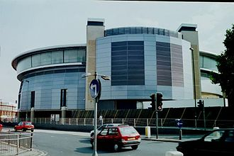 Nottingham Panthers - The National Ice Centre seen in 2001