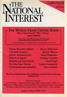<i>The National Interest</i> American international affairs magazine