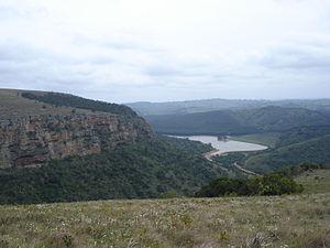 Umzimkulu River - Umzimkulu river scene