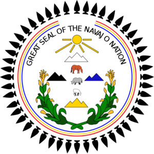 Window Rock, Arizona - Great Seal of The Navajo Nation