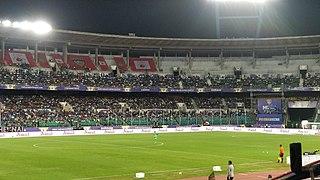 Jawaharlal Nehru Stadium (Chennai) Multipurpose stadium in Chennai, India