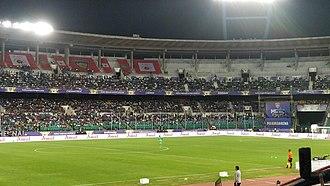 Jawaharlal Nehru Stadium (Chennai) - Image: Nehru Stadium Chennai