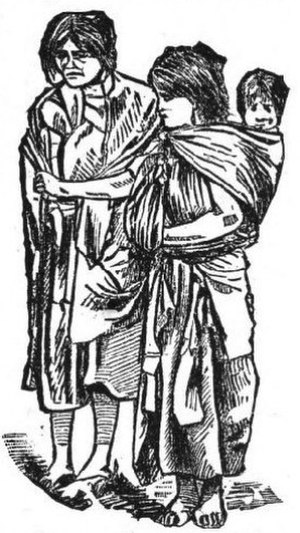 Six Months in Mexico - illustration from the book depicting the Mexican people