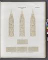 Neues Reich. Dynastie XVII. Theben. Karnak- a - c Fragmente des Obelisken C; d. Basis des Obelisken B (NYPL b14291191-38192).tiff