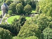 Neues Schloss Höchst Garten