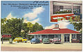New, ultra-modern Franklin's Drive-in Restaurant, at intersection of U.S. route 301-25-80, Statesboro, Ga. (8343878920).jpg