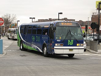 Bus rapid transit in New Jersey - go bus