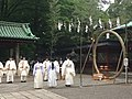 Nezu jinja ōharai me no wa - c - June 30 2015.JPG