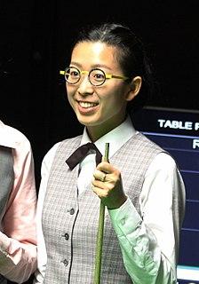 Ng On-yee World champion snooker player from Hong Kong