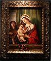 Nicolò rondinelli, madonna col bambino e abgelo che suona il liuto, 1490-1510 ca. (ve o ravenna).JPG