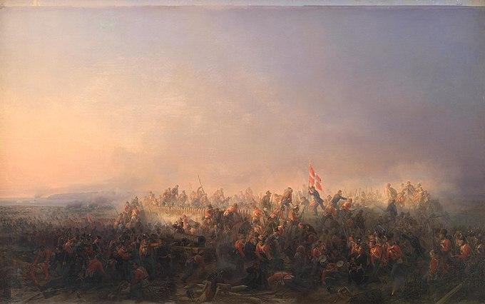 680px-Niels_Simonsen_-_Slaget_ved_Fredericia_den_6._juli_1849_-_KMS846_-_Statens_Museum_for_Kunst.jpg