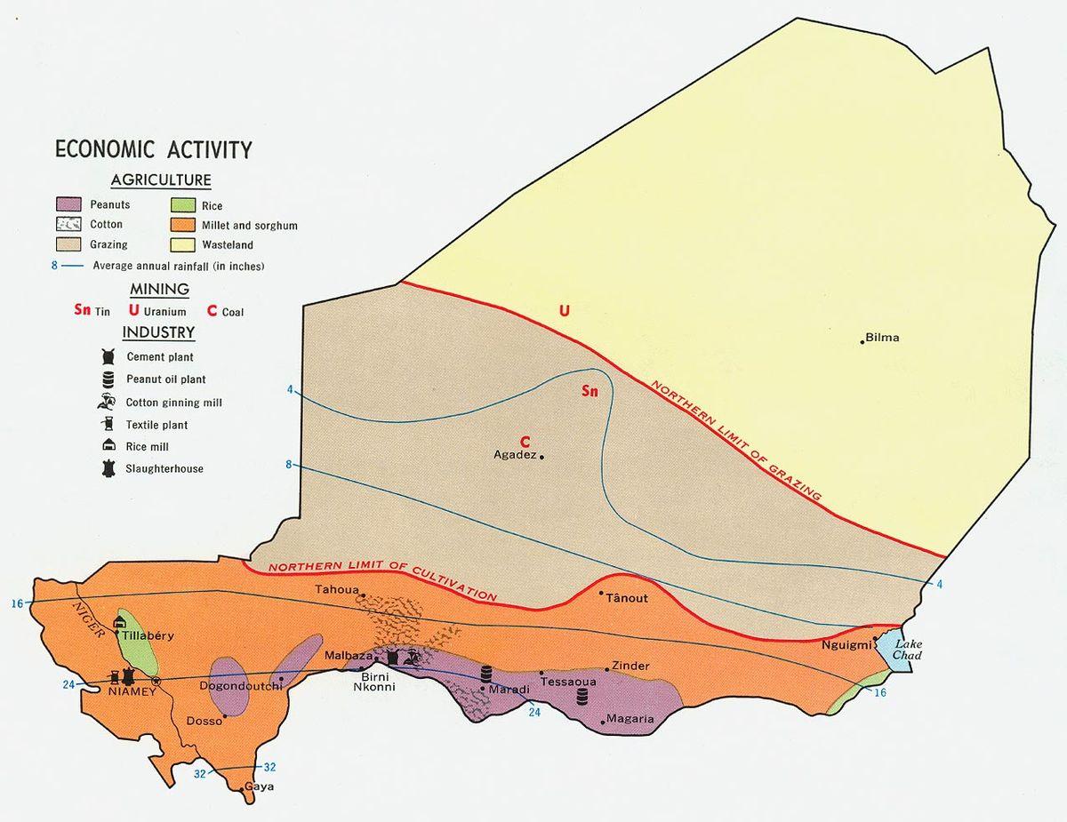 Economie Du Niger Wikipedia