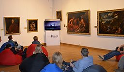 Night of Museums 2014 in National Art Museum of Belarus 01.JPG