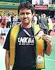 Nikhil Kanetkar - Bronze Mens Singles 35+ BWF World Senior Championship 2017 Kochi-Kerala.jpg