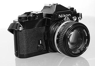 Nikon FE - Nikon FE with Nikkor 50mm f/1.4 lens