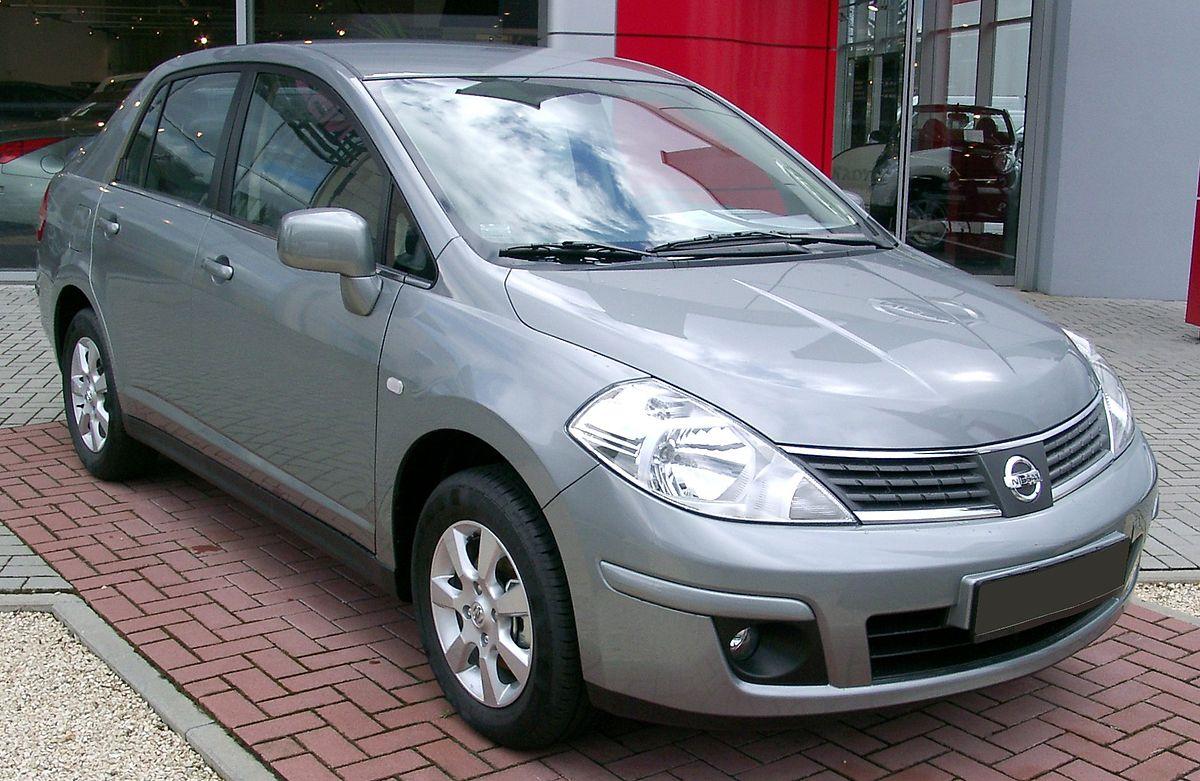 Nissan Tiida Вікіпедія