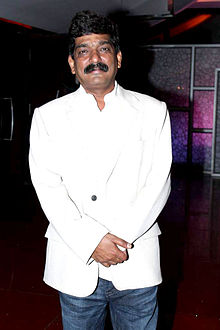 Nitin Chandrakant Desai at the premiere of Marathi film 'Ajintha', 2012