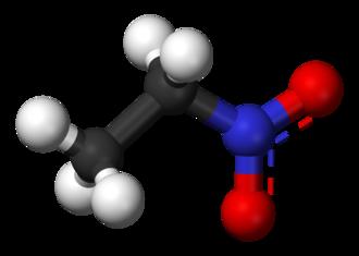 Nitroethane - Image: Nitroethane 3D balls