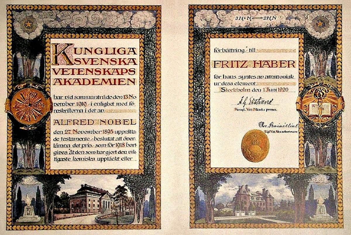 premio nobel pro chimia le encyclopedia libere
