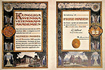 Nobel Prize Diploma Fritz Haber 1918.JPG