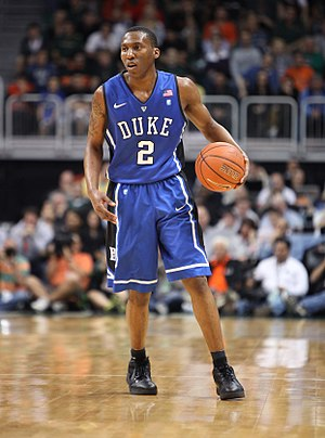 Nolan Smith - Smith playing for Duke in February 2011