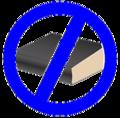 Non encyclopedic icon blue.png
