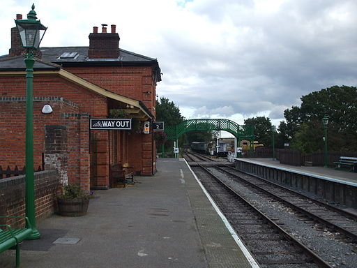 North Weald stn look east2