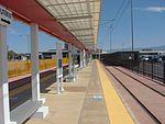 North at Airport station platform, Aug 15.jpg