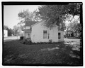 North side of house - Peak House, 322 South Second Street, Manhattan, Riley County, KS HABS KS-69-4.tif
