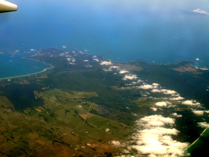 File:North west Flinders Island aerial.jpg