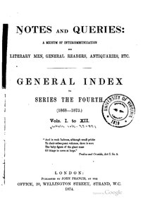 Notes and Queries - Series 4 - General Index.pdf