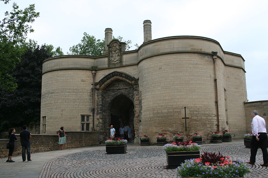 Nottingham Castle Gatehouse.JPG