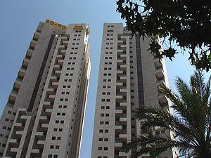 Tel Aviv Towers - Image: Ny 1