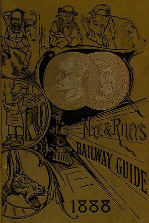 Edgar Wilson Nye - Image: Nye and Riley's Railway Guide cover