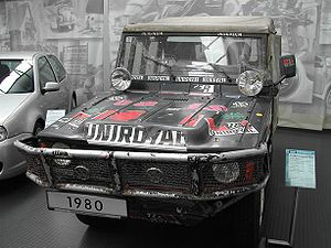 Volkswagen Iltis - Paris-Dakar Rally winner of 1980