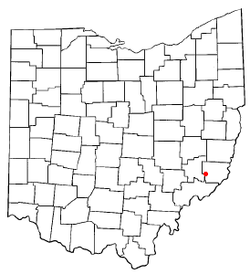 Location of Stafford, Ohio