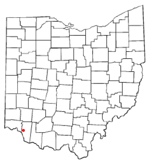 Withamsville, Ohio - Image: OH Map doton Withamsville
