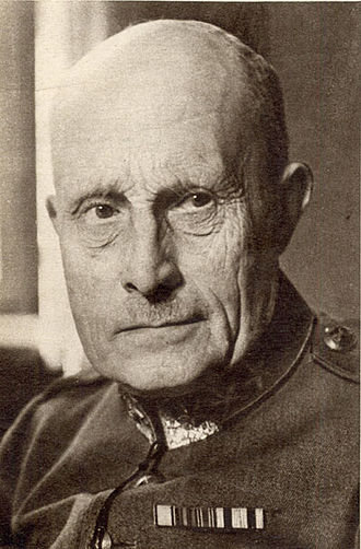 Supreme Commander of the Swedish Armed Forces - Image: O G Thornell