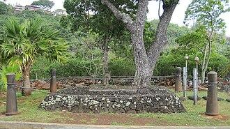 John Young (Hawaii) - John Young's gravesite at the Royal Mausoleum of Hawaii