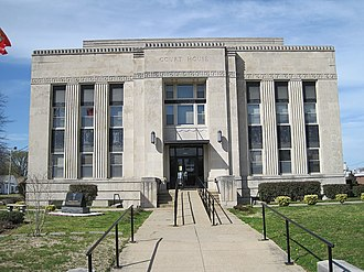 Obion County Courthouse - Image: Obion County Court House Union City TN 2013 04 06 008