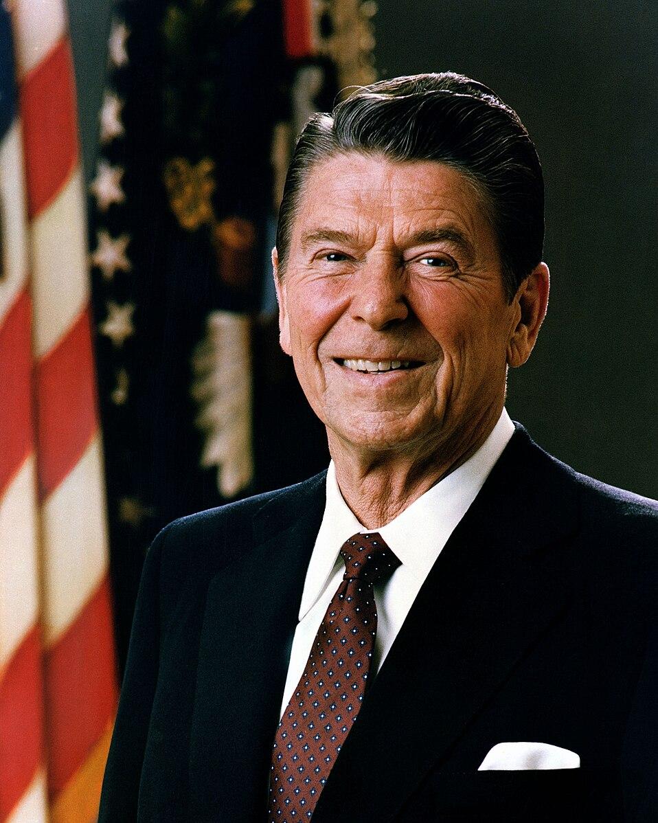 Laissez-Faire leader: Ronald Reagan