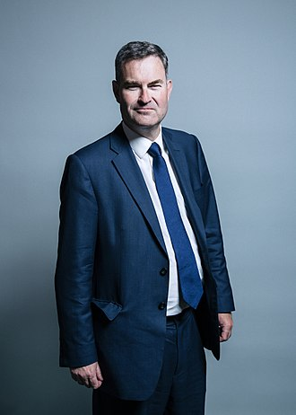 Secretary of State for Justice - Image: Official portrait of Mr David Gauke