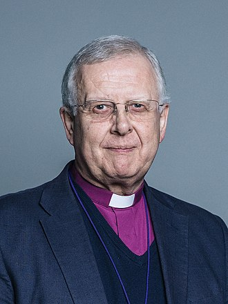 Bishop of Peterborough - Image: Official portrait of The Lord Bishop of Peterborough crop 2