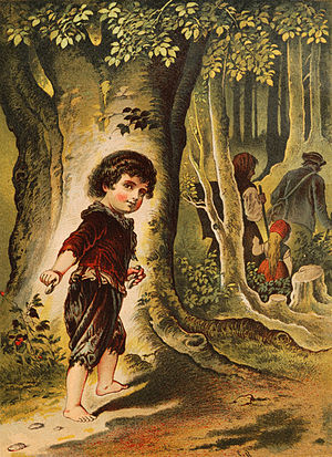 English: Hansel and Gretel, illustration by Ca...